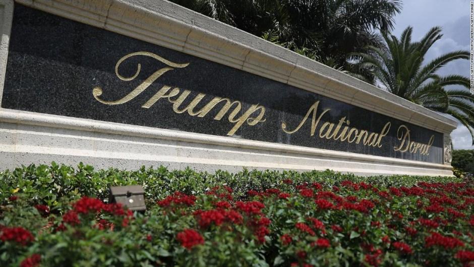 Video falso de Trump transmitido en su resort