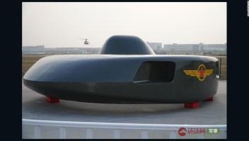 Prototipo de helicóptero chino que parece un ovni