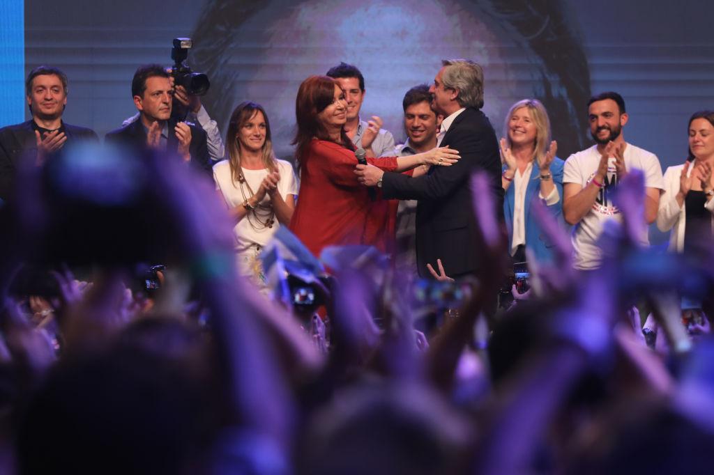 Alberto Fernández virtual ganador en Argentina