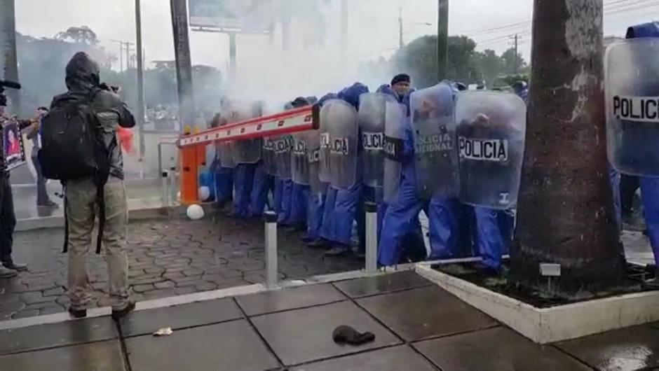 nicaragua protesta estudiantes