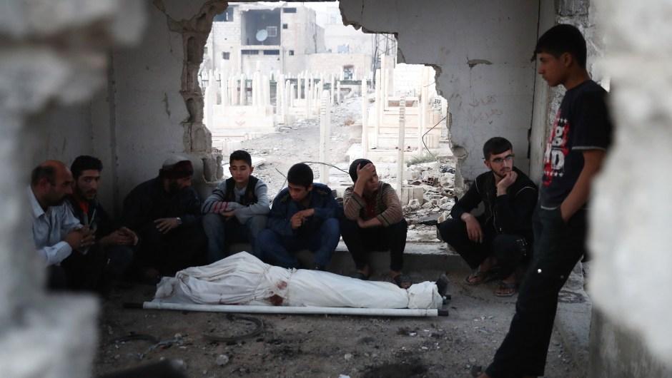 siria muerto
