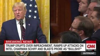 El encontronazo de Trump con un periodista de Reuters