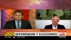Álvaro García Linera , vicepresidente de Bolivia, habla en CNN Argentina