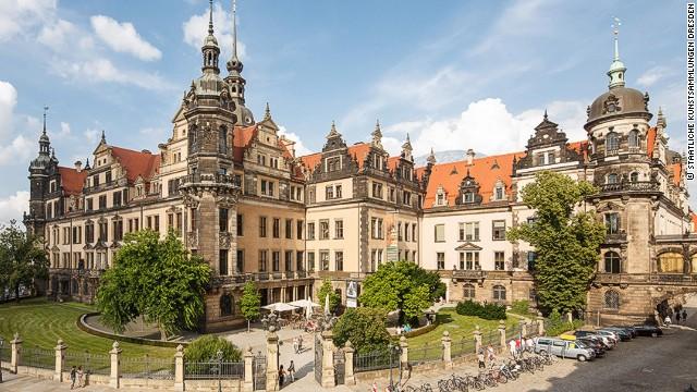 Castillo en Dresde