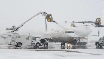 La nieve afecta severamente el transporte