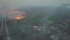 Brasil: Incendio causa estragos en la región de Pantanal