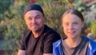 Greta Thunberg y Leo Di Caprio se conocieron finalmente
