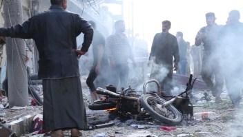 13 muertos por ataque terrorista en Siria