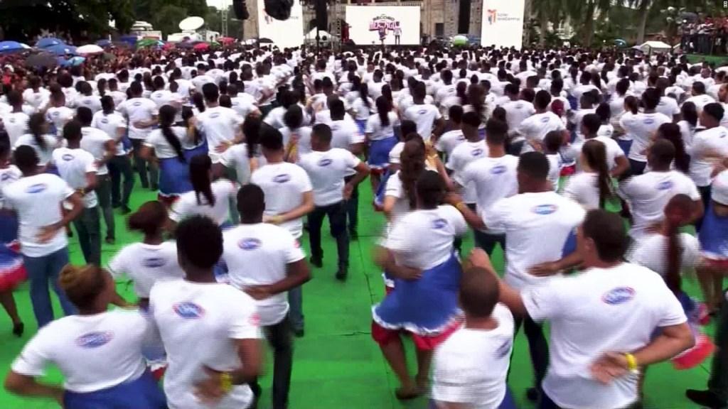 República Dominicana rompe récord Guinness a ritmo de merengue
