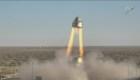 Mira a una nave espacial realizar una prueba sin tripulación