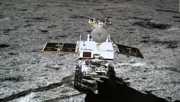 China explora el lado oscuro de la Luna