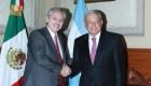 Detalles de la visita de Alberto Fernández a López Obrador