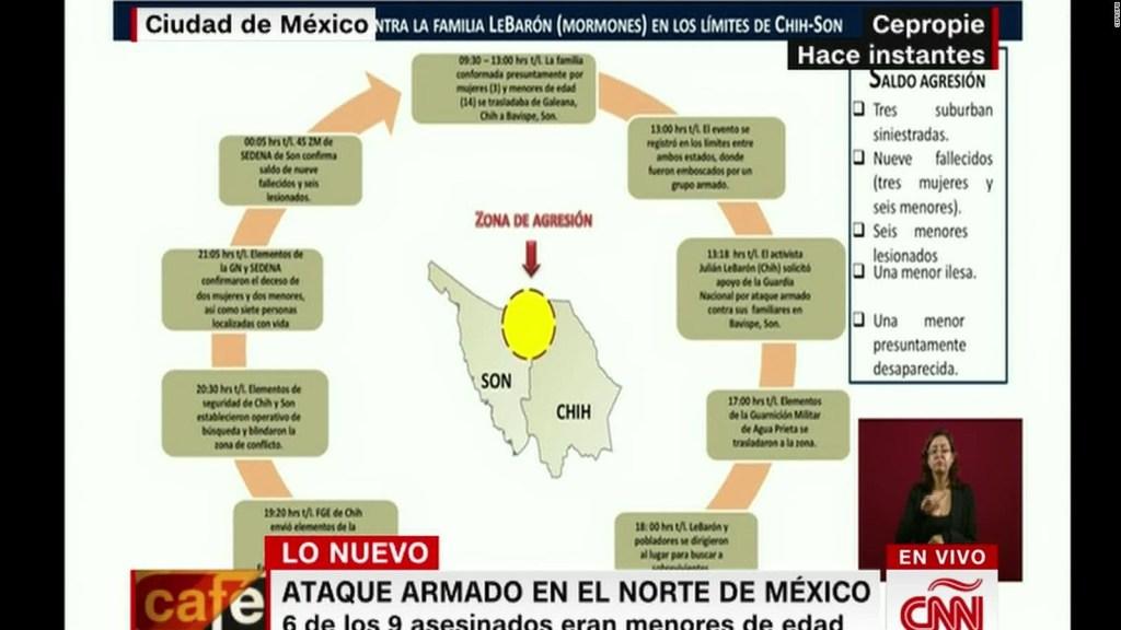 Así fue el ataque a la familia LeBarón en México