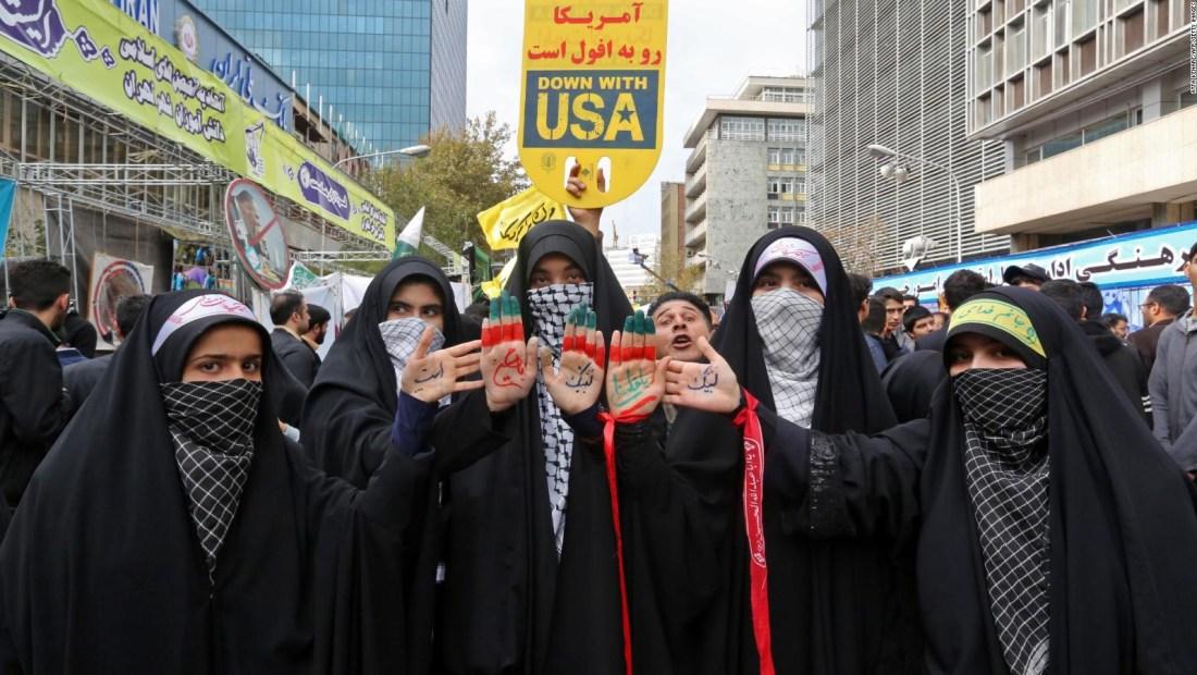 40 aniversario de toma de la embajada de EE.UU. en Teherán