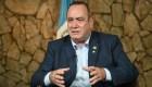 Guatemala retirará su apoyo a Nicolás Maduro