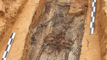 Hallan esqueleto que sería de un general de Napoleón