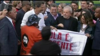Lula sale en libertad