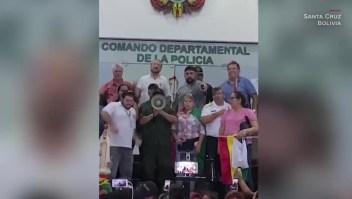 Reportan motines de policías en algunas ciudades de Bolivia