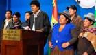 Quiroga: Morales quiso robarse la presidencia