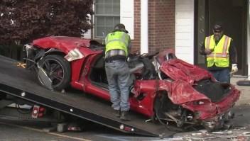 Dos personas mueren tras accidente de Porsche contra una vivienda