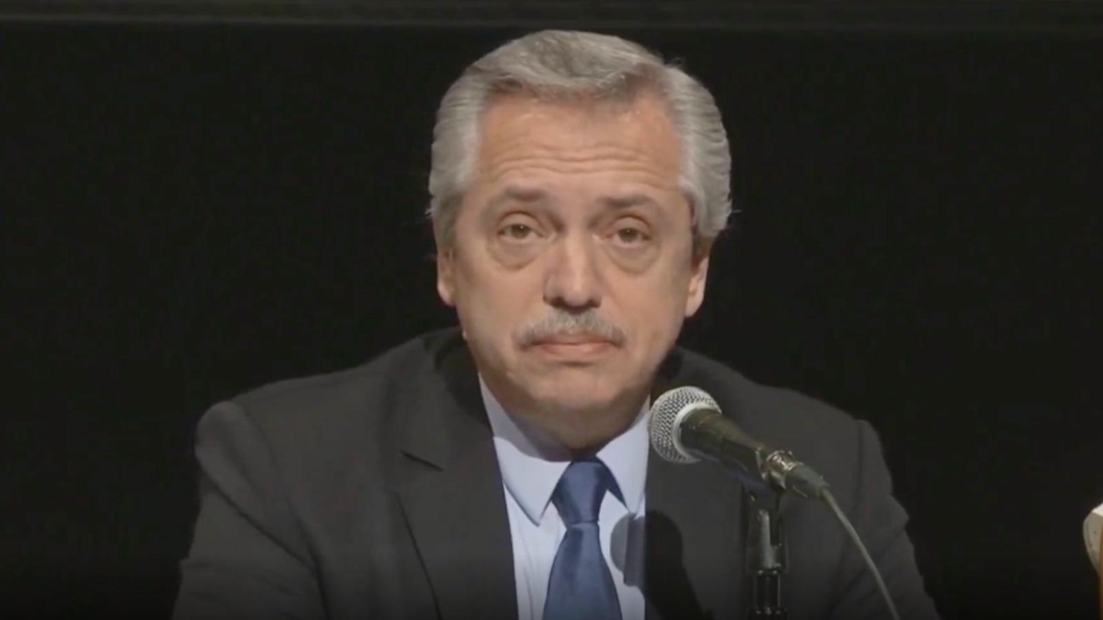 Alberto Fernández se refirió a la situación en Bolivia