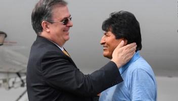Morales: Mientras tenga la vida sigue la lucha