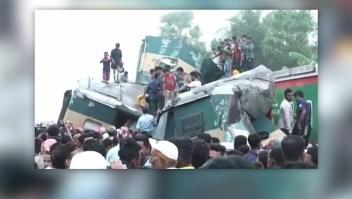 Dos choques de trenes en Asia dejan al menos 12 muertos y 100 heridos