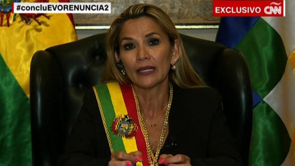 """Jeanine Áñez: """"Evo Morales es un estafador de la democracia"""""""