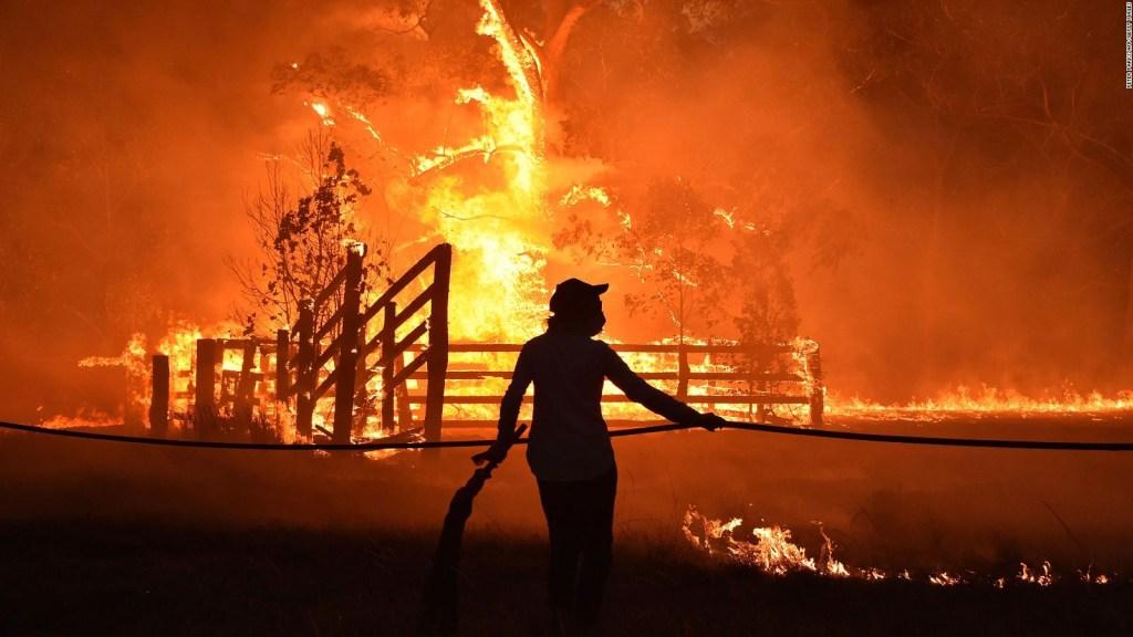 En Australia, incendios forestales dejan cuatro muertos