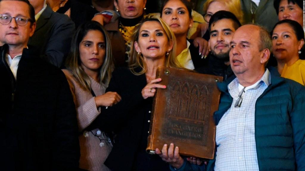 Jeanine Áñez, presidenta en funciones de Bolivia
