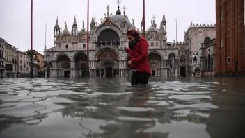 Venecia, las peores inundaciones en 50 años
