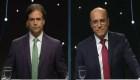 Debate en Uruguay: Martínez y Lacalle Pou cara a cara