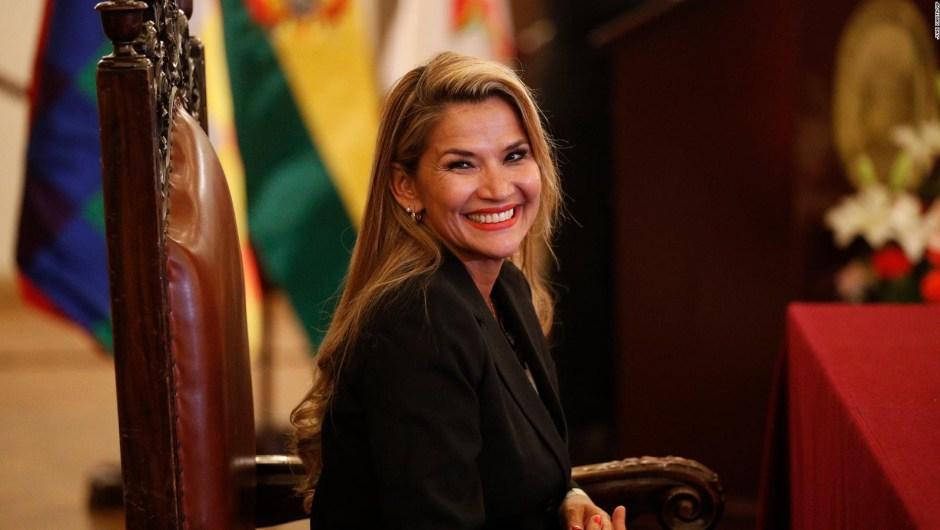 Jeanine Áñez envió un mensaje al partido de Evo Morales