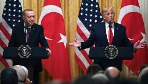 Lo que buscan Trump y Erdogan tras su reunión