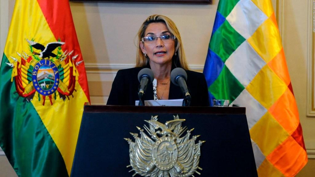 "Jeanine Áñez, al socialismo: ""Vayan buscando candidato"""