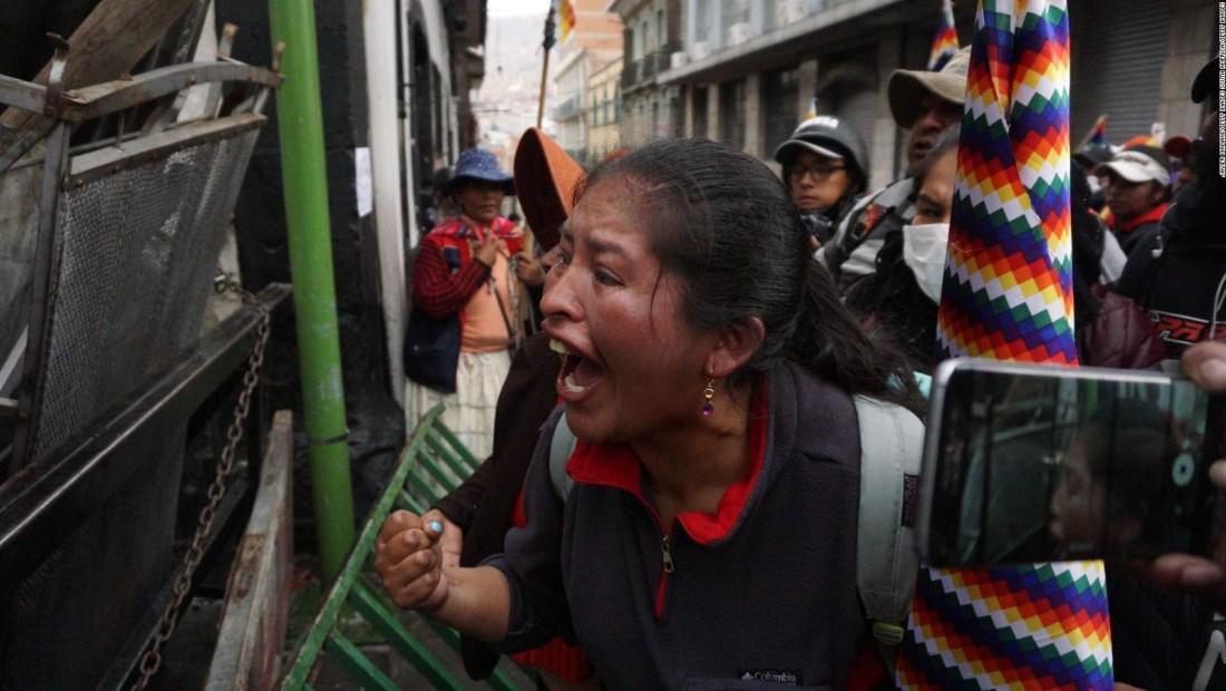 Primera convocatoria de la Iglesia al diálogo en Bolivia