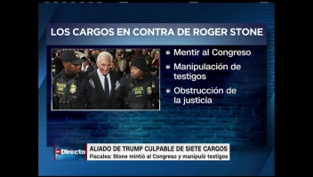 Roger Stone fue hallado culpable de todos los cargos