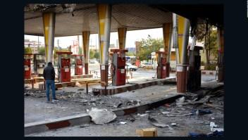 Protestas en Irán por aumento del precio del combustible