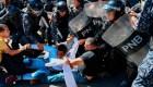 Policía de Venezuela dispersa a manifestantes