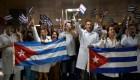 Llegan a Cuba 207 profesionales liberados en Bolivia