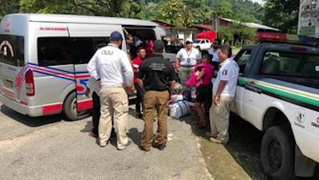 Policía desmonta una red de tráfico migrantes en México