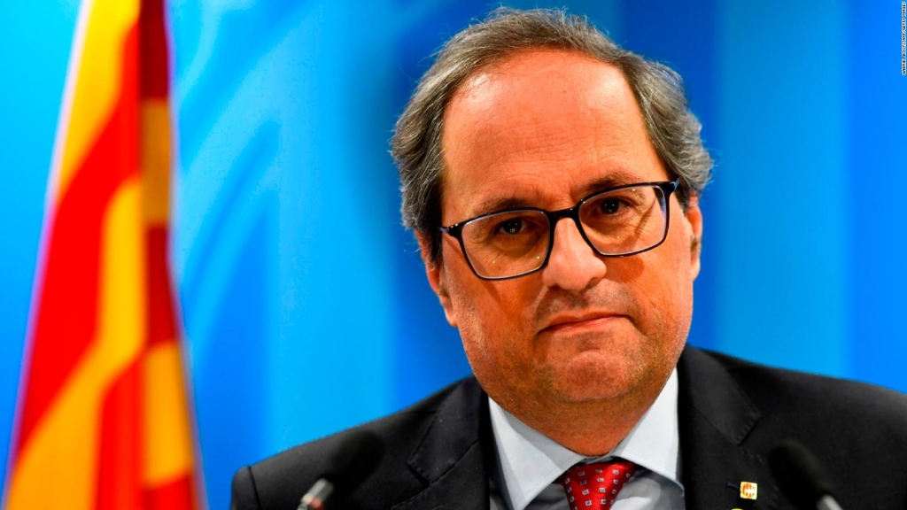 Torra incumplió orden de JEC antes de comicios de España