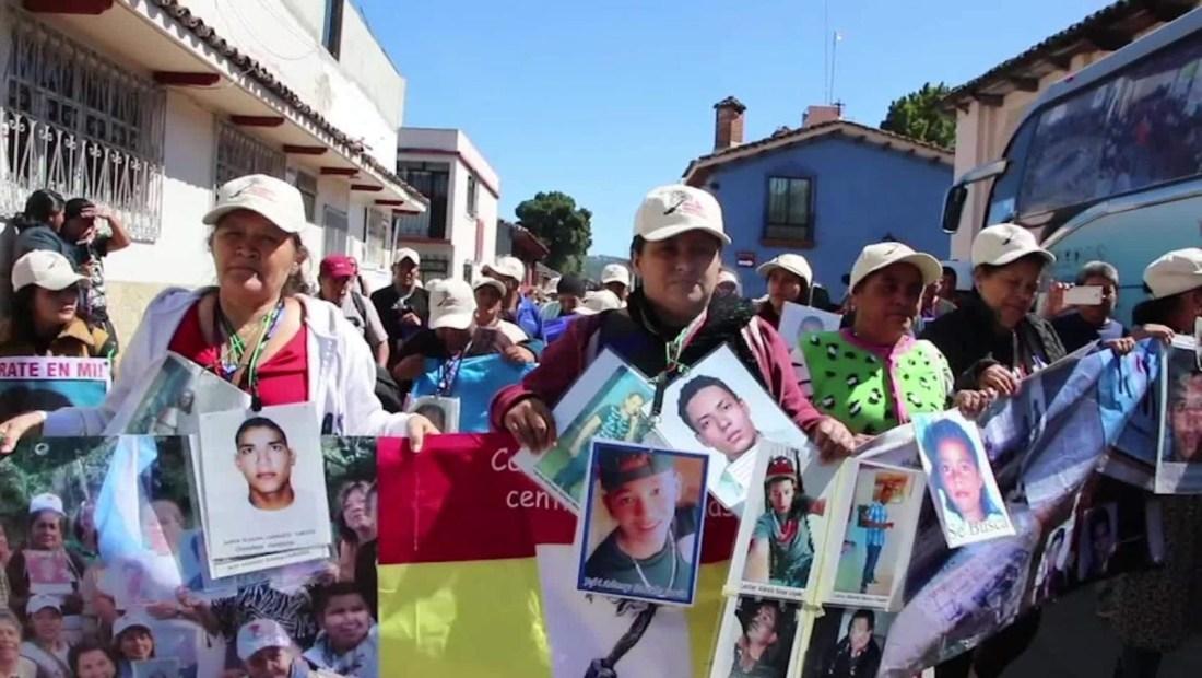 Madres de migrantes desaparecidos llegan México