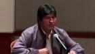 Morales: No me opongo a elecciones en Bolivia