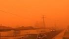 Australia: Tormenta de polvo tiñe el cielo de Mildura