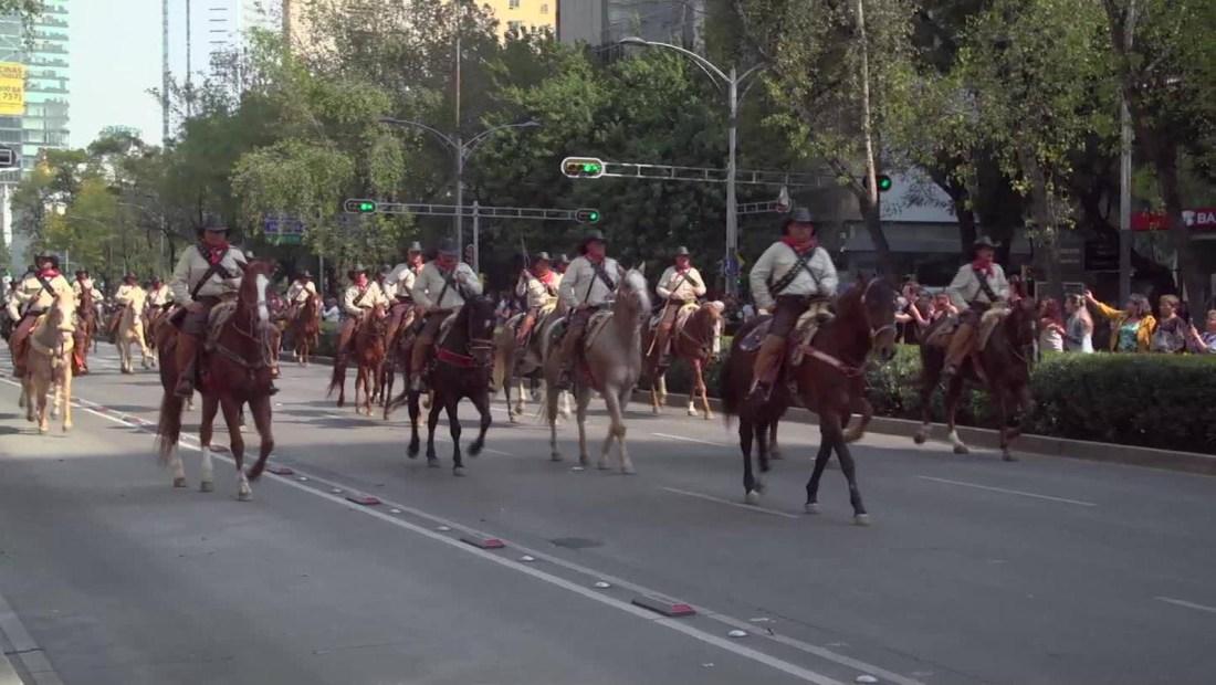 México conmemora 109 años de la Revolución de 1910