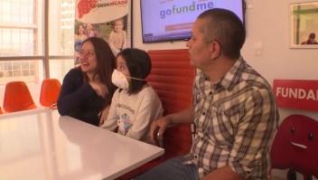 Niña consigue fondos en redes para transplante de hígado