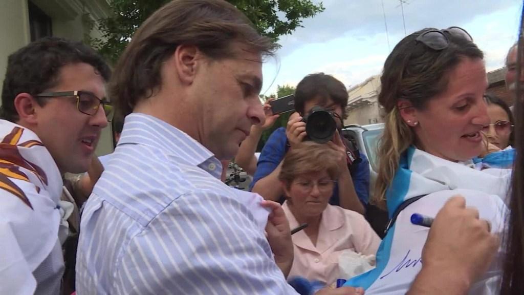 Uruguay: Un día con el candidato Luis Lacalle Pou