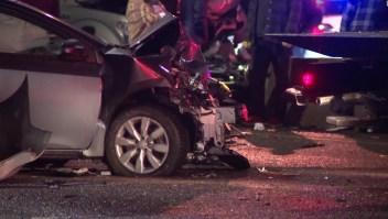 En imágenes: decenas de vehículos se estrellan en Denver