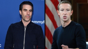sacha baron cohen facebook mark zuckerberg